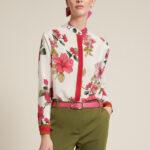 Рубашка с цветочным принтом - Fashion Show